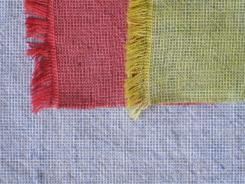 Dye-Lishus® cotton dyed and overdyed to make shot cotton
